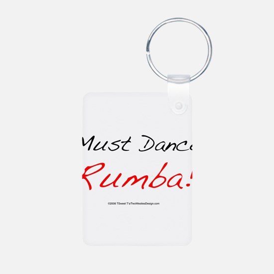 Must Dance Aluminum Photo Keychain