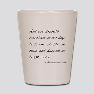 Nietzsche on Dance Shot Glass