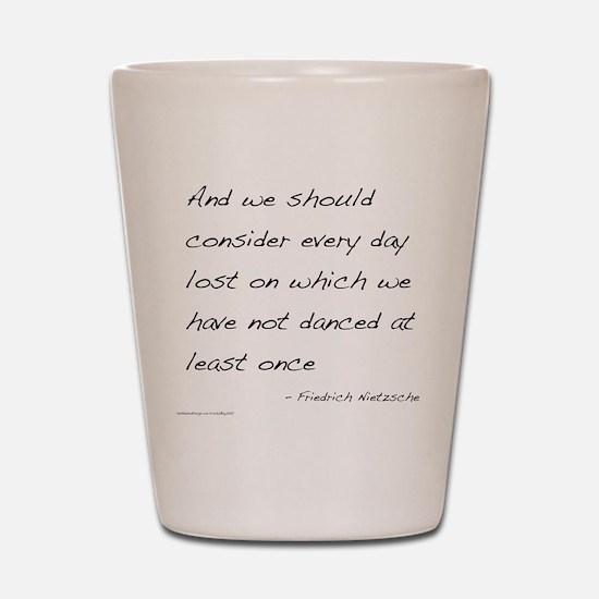 Nietzsche on Dance Shot Glass