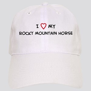 I Love Rocky Mountain Horse Cap