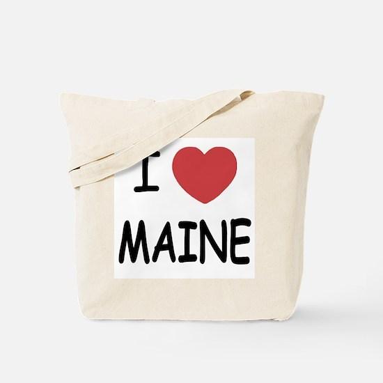 I heart Maine Tote Bag