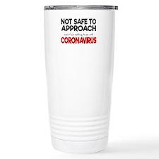 Do Not Approach - 16 oz Stainless Steel Travel Mug