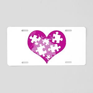 AUTSIM Aluminum License Plate