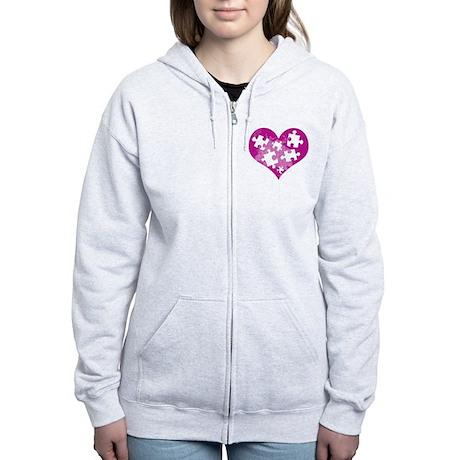 AUTSIM Women's Zip Hoodie
