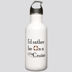 I'd Rather Cruise Stainless Water Bottle 1.0L
