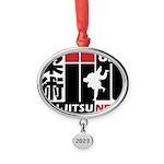 USA Jiu-Jitsu News Oval Year Ornament