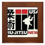 USA Jiu-Jitsu News Framed Tile