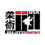 USA Jiu-Jitsu News Wall Decal