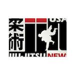 USA Jiu-Jitsu News Magnets