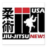 USA Jiu-Jitsu News Square Car Magnet 3
