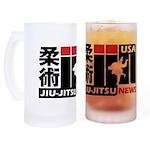 USA Jiu-Jitsu News Frosted Stein