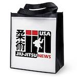 USA Jiu-Jitsu News Reusable Grocery Tote Bag