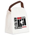 USA Jiu-Jitsu News Canvas Lunch Bag