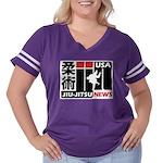 USA Jiu-Jitsu News Women's Plus Size Football T-Sh