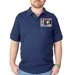 USA Jiu-Jitsu News Dark Polo Shirt