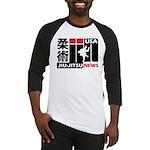 USA Jiu-Jitsu News Baseball Jersey