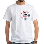 40th White T-Shirt