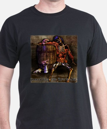 Party til the Rum's Gone T-Shirt