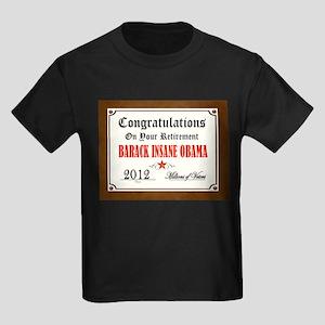 FINALLY GONE Kids Dark T-Shirt