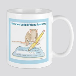 IQ Mouse 4 Libraries Mug