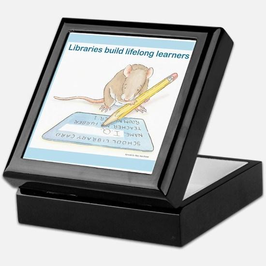 IQ Mouse 4 Libraries Keepsake Box