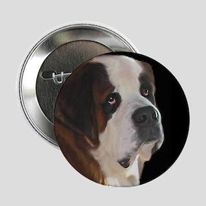 """Saint Bernard 2.25"""" Button"""