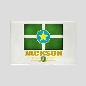 Jackson Pride Rectangle Magnet