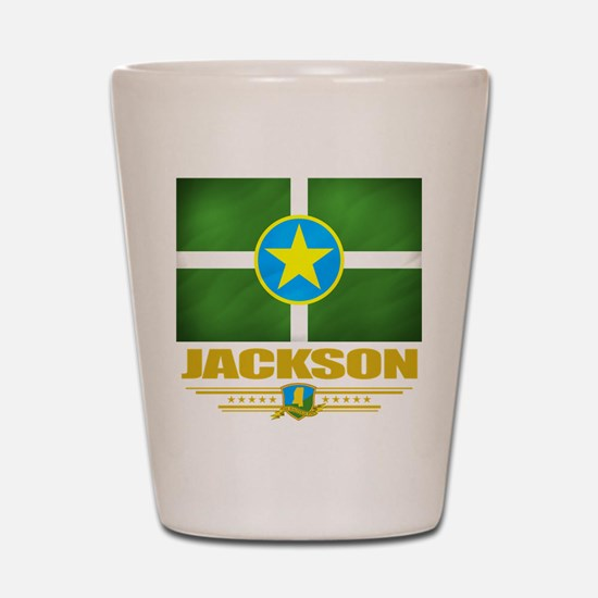 Jackson Pride Shot Glass