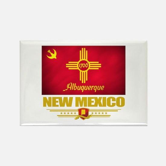 Albuquerque Pride Rectangle Magnet