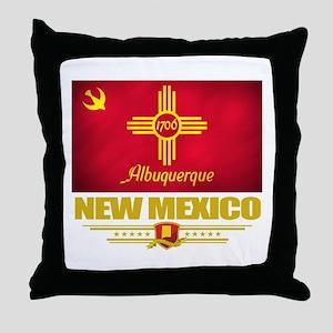 Albuquerque Pride Throw Pillow