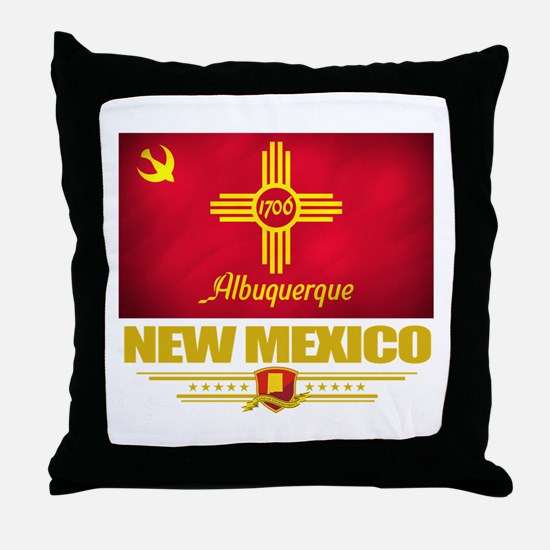 Albuquerque Pride Throw Pillow