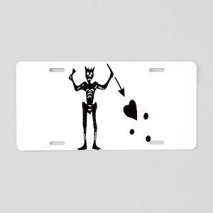 BLACKBEARD Aluminum License Plate
