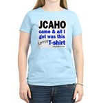 JCAHO Came Women's Pink T-Shirt
