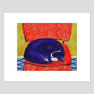 Sleeping Kibbers Small Poster