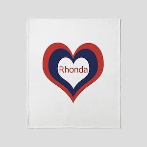 Rhonda - Throw Blanket