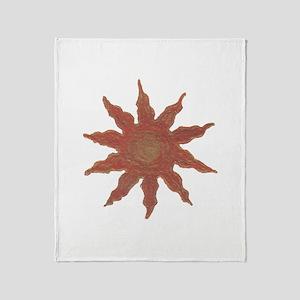 Golden Sun - Throw Blanket