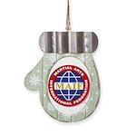 MAIF Mitten Ornament