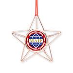 MAIF Copper Star Ornament