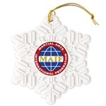 MAIF Snowflake Ornament