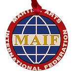 MAIF Maple Round Ornament