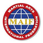 MAIF Round Car Magnet