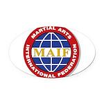 MAIF Oval Car Magnet