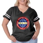 MAIF Women's Plus Size Football T-Shirt