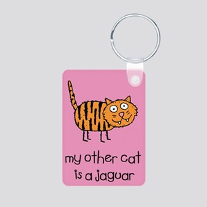 My Other Cat is a Jaguar Keychain