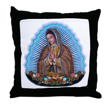 Lady of Guadalupe T5 Throw Pillow