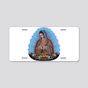 Lady of Guadalupe T5 Aluminum License Plate