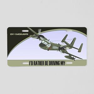 OV-1 Mohawk License Plate