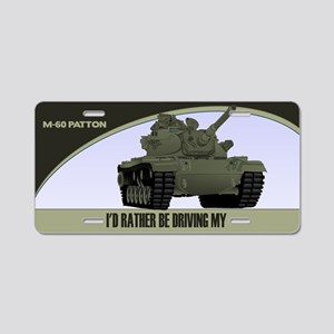 M-60 Patton Tank License Plate