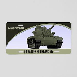 M-60 Patton Tank License Plate