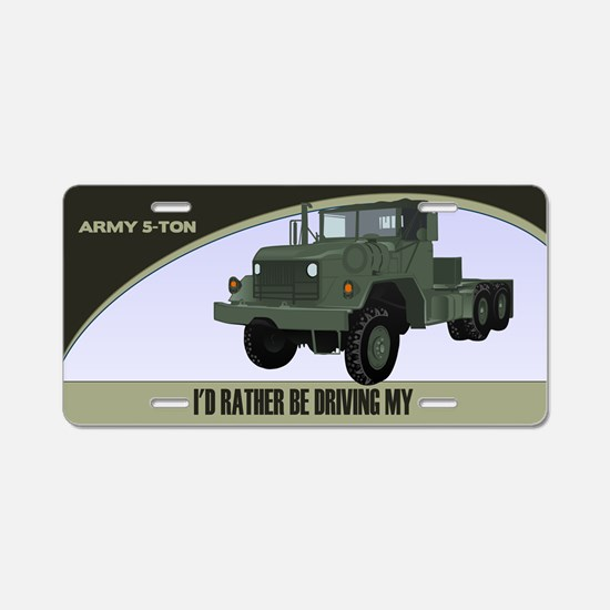 5-Ton Truck License Plate